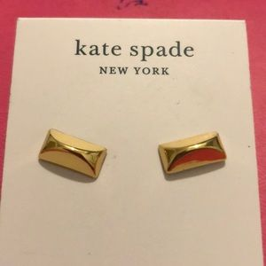 Kate Spade Sliced Scallops Earrings NWT